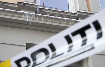 Istapper knuste ruter på flere biler i Bergstien på St. Hanshaugen