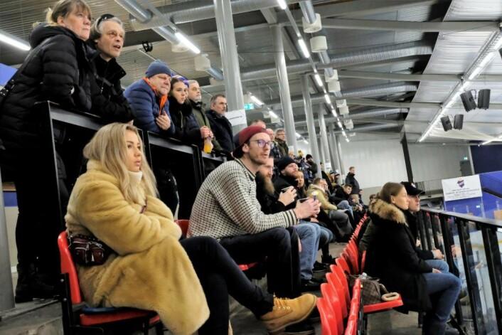 Norges ishockeyforbund har gitt Grüner dispensasjon fra tilskuerkravet både i kvalikkampene og eventuelt spill i hockeyens øverste divisjon neste sesong. Foto: Christian Boger