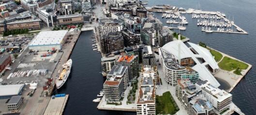 Fersk rapport viser risiko for at eiendommer i Fjordbyen er kjøpt med penger eierne har tjent på ulovlig måte