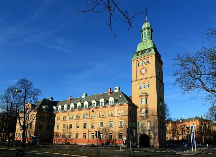 Det førtse Ullevål sykehus så dagens lys som et epiedemilasarett i 1887. Flere av dagens sykehusbygninger er fredet av Riksantikvaren. Foto: Oslo universitetssykehus