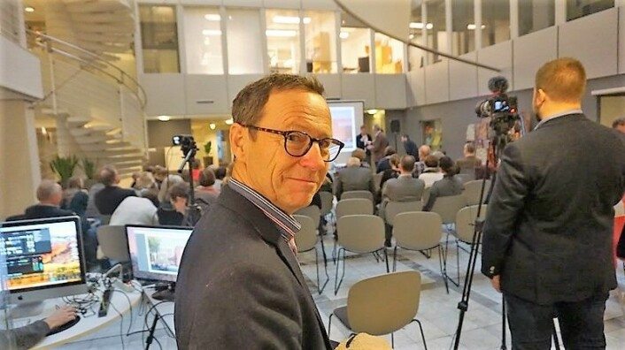 Initiativtaker og kirkeverge, Robert Wright, er fornøyd med at valget falt på Oslo Hospital. Foto: Finn Folke Thorp