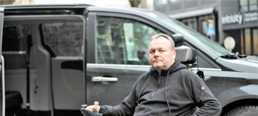 Vaktmesterkompaniet brukte HC-parkering som snølager ved Ullevål sykehus