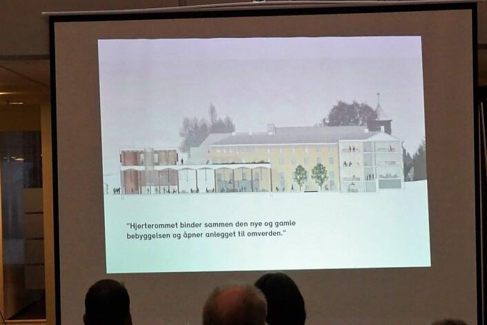 Initiativtakerne til det nye kirkesenteret er i dialog med Riksantikvaren og Byantikvaren om hvordan å tilpasse det gamle og det nye. Foto: Finn Folke Thorp