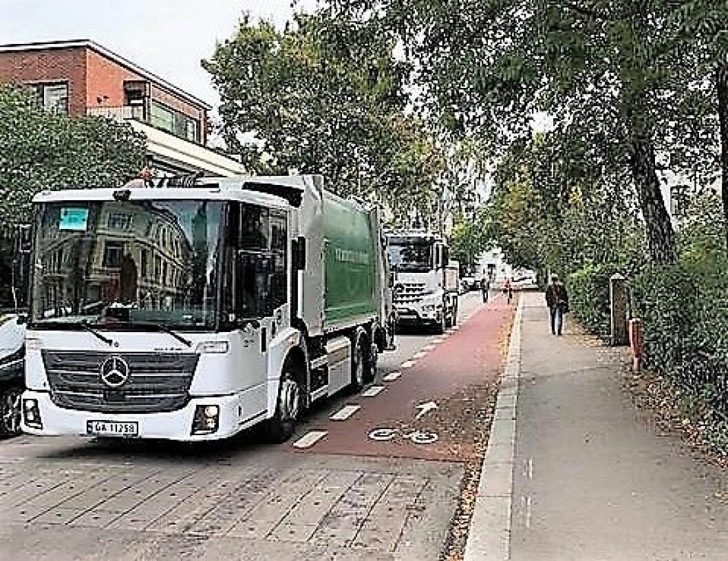 – Det er ikke nødvendigvis negativt dersom Eilert Sundts gate nå foretrekkes av flere bilister, sier Liv Jorun Andenes, fra bymiljøetaten. Foto. Stein Krosby