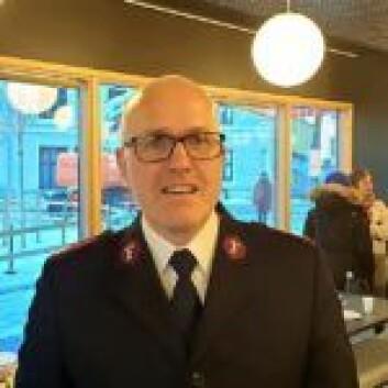 Knut Haugsvær fra Frelsesarmeen er med på Abloom Workshop. Foto: Bjørn Lecomte