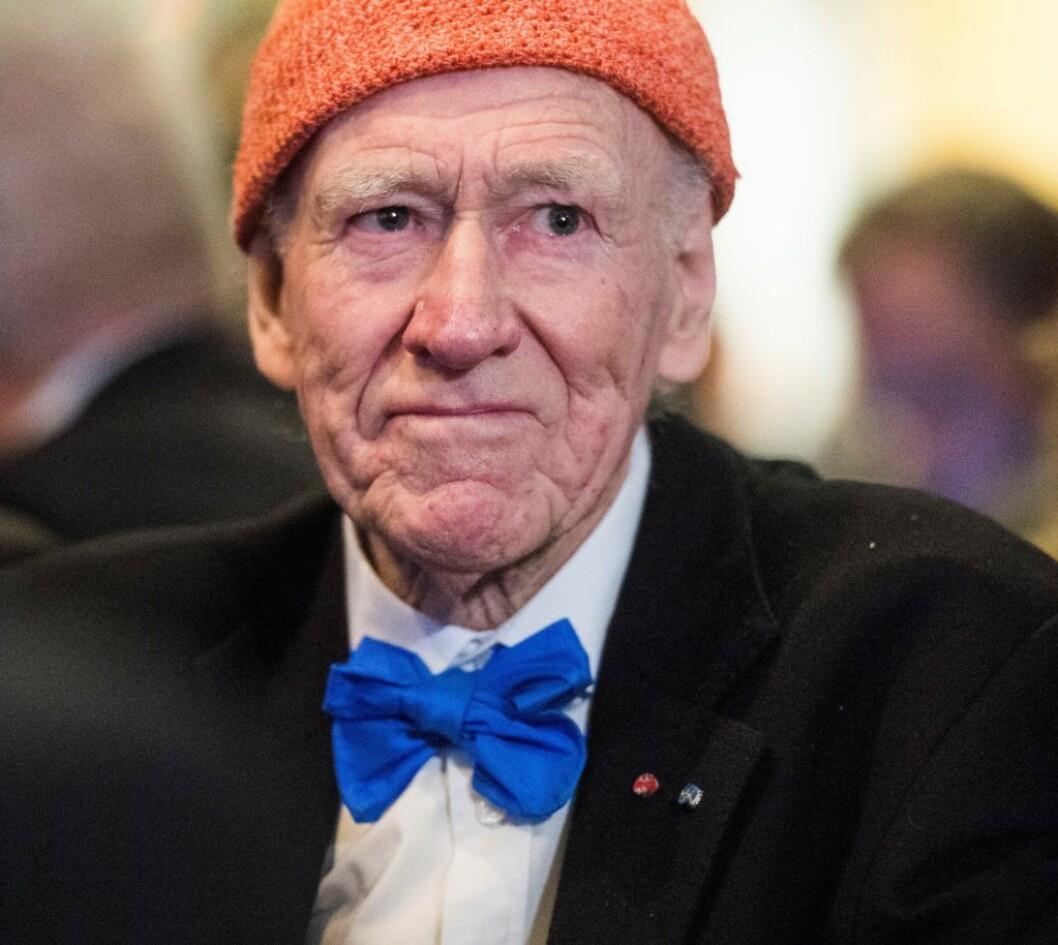 95 år gamle Olav Thon var ifølge bladet Kapital god for over 21 milliarder kroner i 2010. Foto: Jon Olav Nesvold / NTB scanpix