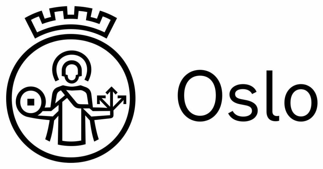 Den nye logoen for Oslo kommune ble presentert til store protester i fjor sommer. Men nå går byrådet inn for forslaget. Riktignok presiserer byrådet at det gamle byvåpenet fortsatt skal brukes i høytidelige sammenhenger. Illustrasjon: Oslo kommune