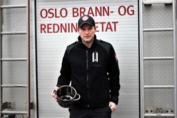 � Ring gjerne forsikringsselskapet før du ringer oss ved flomskader i eget hjem, sier fungerende informasjonssjef i Oslo brann- og redningsetat Sigurd Folgerø Dalen. Foto: André Kjernsli