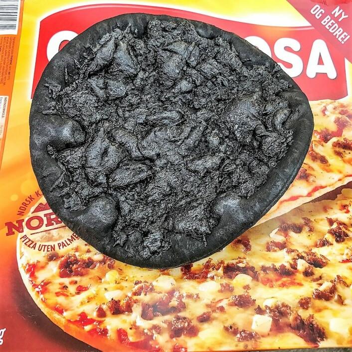 Brannvesenet i Oslo må stadig oftere rykke ut til svidde pizzaer og andre matretter gjenglemt på komfyr eller i stekeovn. Foto: Oslo brann- og redningsetat