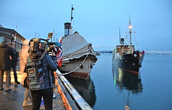 Børøysund endelig hjemme på Akershusstranda. Nå er 111-åringen klar for sommer på fjorden