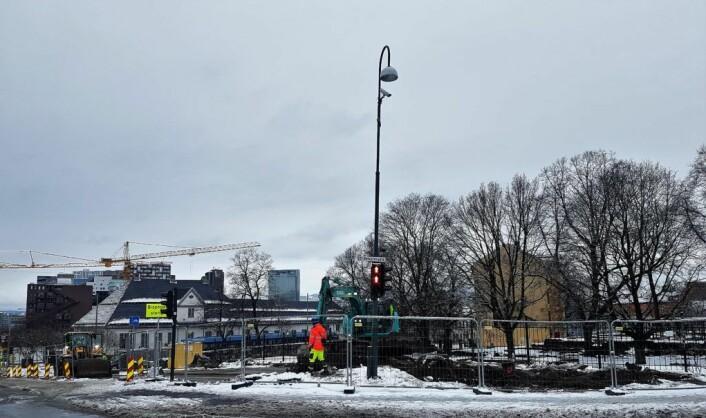 � Når oppstillingsplassen er plassert i hjertet av det historiske Oslo, hva vil turister tenke om oss, funderer Gamlebyen Sport og Fritids Alto Braveboy. Foto: Alto Braveboy