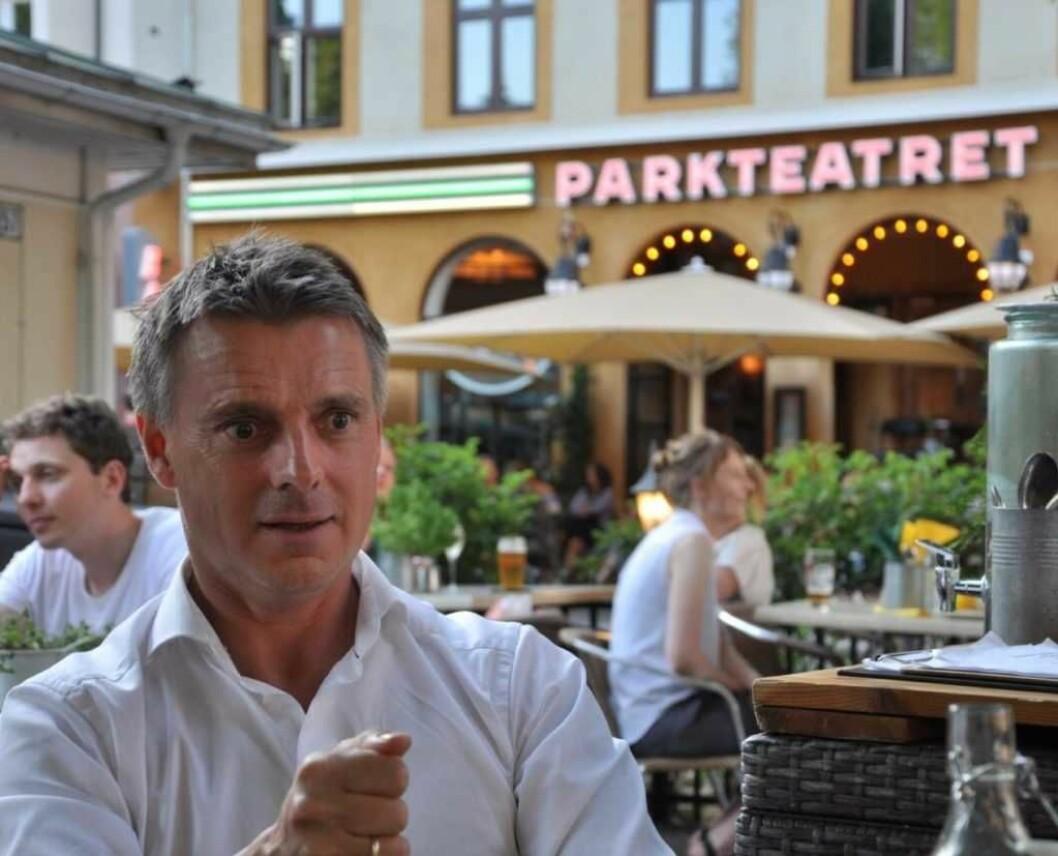 Kjetil Lund går snart av som byråd for næring og eierskap i Oslo. Det innebærer at han trer ut av politiske verv. Foto: Arnsten Linstad