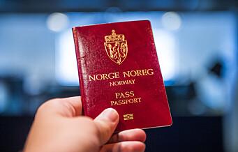 Politiet i Oslo utvider passbestillingen på nett til 90 dager