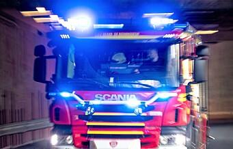 22 personer evakuert etter brann i Ruseløkkveien i Vika