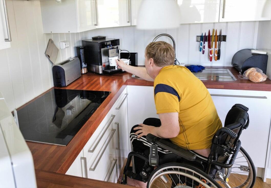 � Mange vil bli avhengig av sosialhjelp for å kunne betale husleia. Dette er ikke en verdig situasjon, sier Eivor Evenrud (R).  Illustrasjonsfoto: Gorm Kallestad / NTB scanpix