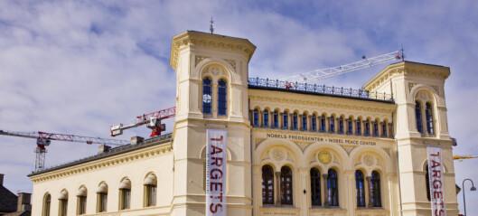 Nobels Fredssenter kan bli flyttet fra Vestbanehallen