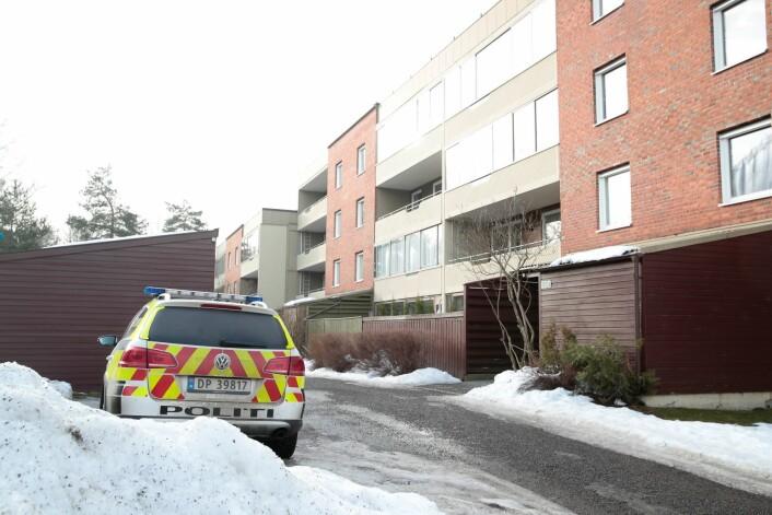En person ble onsdag funnet drept på Ellingsrud i Oslo. Foto: Håkon Mosvold Larsen / NTB scanpix