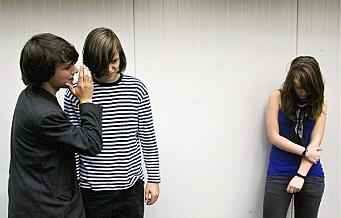Færre oppgir at de mobbes ved Oslos ungdomsskoler, viser ny undersøkelse