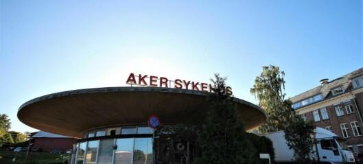 – Arbeiderpartiet krever at Aker sykehus prioriteres først