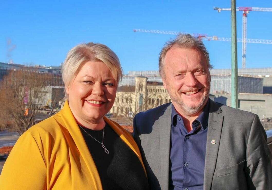 Etter fire år som stabssjef for byrådsleder Raymond Johansen (Ap) blir Marte Scharning Lund (til v.) ny Ap-byråd for næring og eierskap i Oslo. Foto: Privat