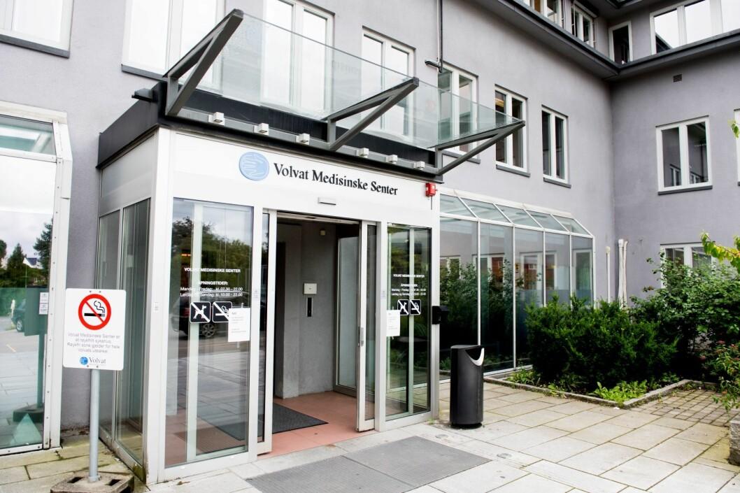 Hit, til Volvat Medisinske Senter ved Majorstuen, kommer en del av pasientene med skabb. Foto: Jon Olav Nesvold / NTB scanpix
