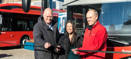 Nye elbusser på plass i hovedstaden
