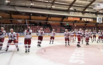 Full jubel da Vålerenga tok sitt 30. seriemesterskap i ishockey. Seriegullet endelig tilbake på Jordal