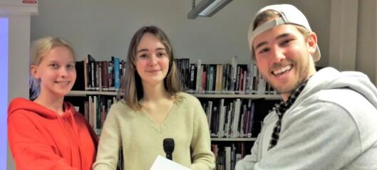 To elever ved Elvebakken startet firma for å bekjempe plastforurensningen i havet