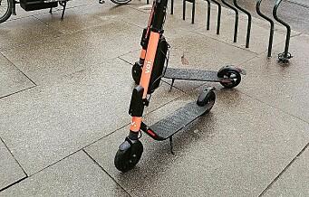 Voi elsparkesykler innfører test av brukeren for å hindre fyllekjøring i helgene