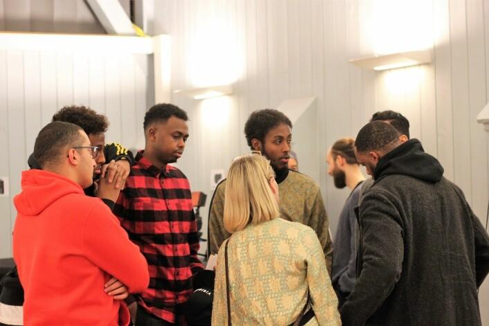 Ungdommer fra Tøyen er opptatt av å bli involvert i sin egen fremtid og er lei av å bli snakket om. Foto: André Kjernsli