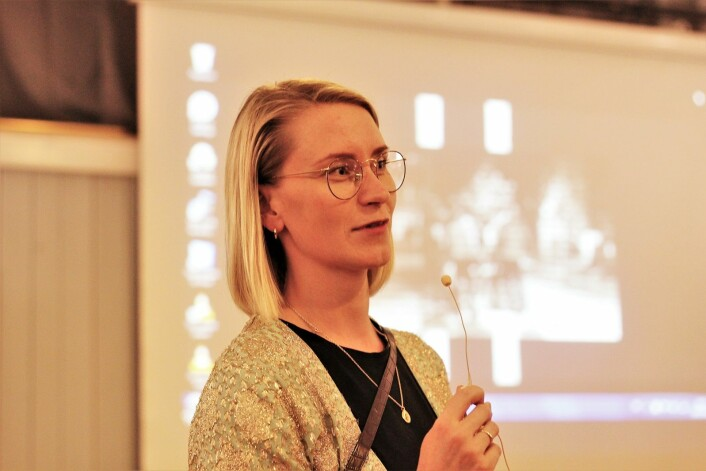 – Politi, feltarbeidere og ungdommer er enige om at dialog mellom partene er eneste utvei for å løse opp i problemer, sier Line Oma (AP) er leder i bydelsutvalget i Gamle Oslo. Foto: André Kjernsli