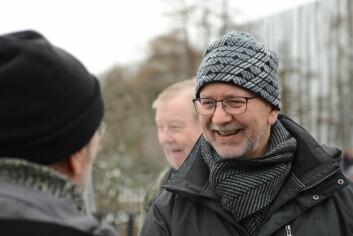 Lokalpolitiker for SV, Per Østvld, mener det er viktig at menigmann engasjerer seg i debatten om Galleri Oslo-planene. Foto: Morten Lauveng Jørgensen