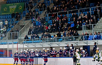VIF Hockey tok et klart første stikk mot Manglerud i den første kvarten, men imponerte ingen