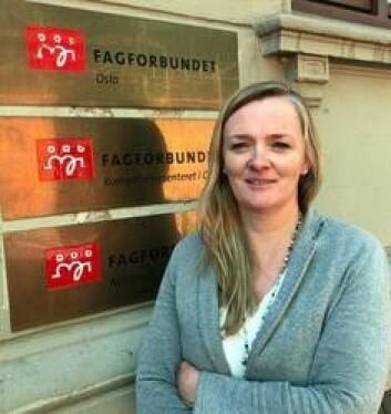 – Retten til å bestemme over sin egen kropp og over sitt eget liv, er helt grunnleggende, sier Anna Elisabeth Uran. Foto: Fagforbundet i Oslo