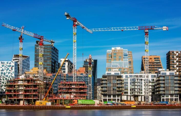 Oslo vokser kraftig, med rundt 10.000 i året de siste årene. Foto: Ole Berg-Rusten / NTB Scanpix
