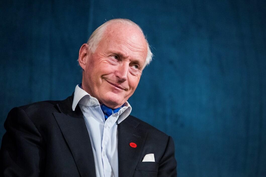 En millinon kroner får Oslo Høyre av Christian RIngnes. Foto: Håkon Mosvold Larsen / NTB scanpix
