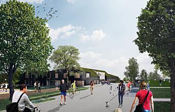 Grorud får et nytt flerbrukshus som rommer flerbrukshall, klubbhus, kultursal og barnehage