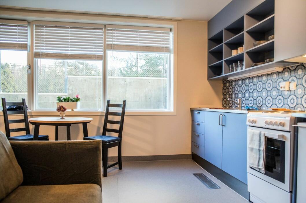 De nye boligene for rusavhengige skal tåle hard bruk. Foto: Oslo kommune