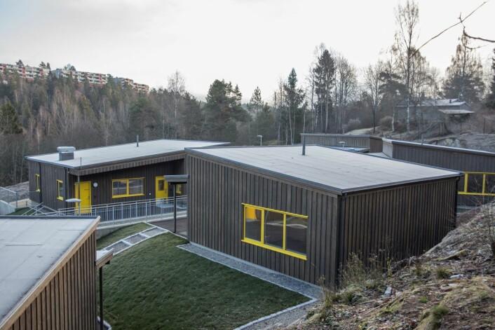 Splitter nye boliger tilbys rusavhengige i Lajbruveien. Målet er å få flere rusavhengige ut fra institusjoner og ut i Oslos bydeler, opplyser byrådet. Foto: Oslo kommune
