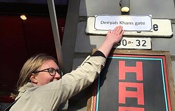 — Byen trenger flere gater og plasser med kvinnenavn