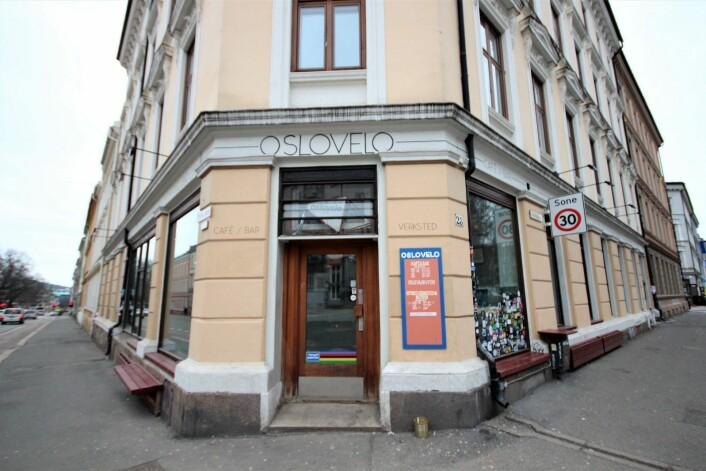 Oslovelo finner du på hjørnet av Seilduksgata og Toftesgate ved sørøstenden av Birkelunden på Grünerløkka. Foto: André Kjernsli