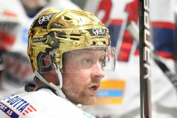 Martin Røymark var raskt ute av startblokkene og noterte seg for to mål i førsteperioden. Foto: André Kjernsli