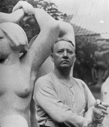 Det er i år 150 år siden billedhuggeren Gustav Vigeland ble født. Foto: Anders Beer Wilse / Wikimedia Commons