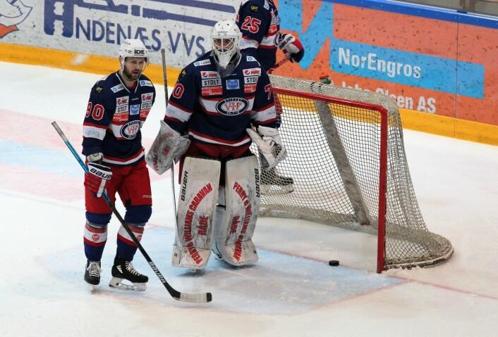 VIF slapp inn et par surregoal, men sikret avansement til semifinalespill. Foto. André Kjernsli