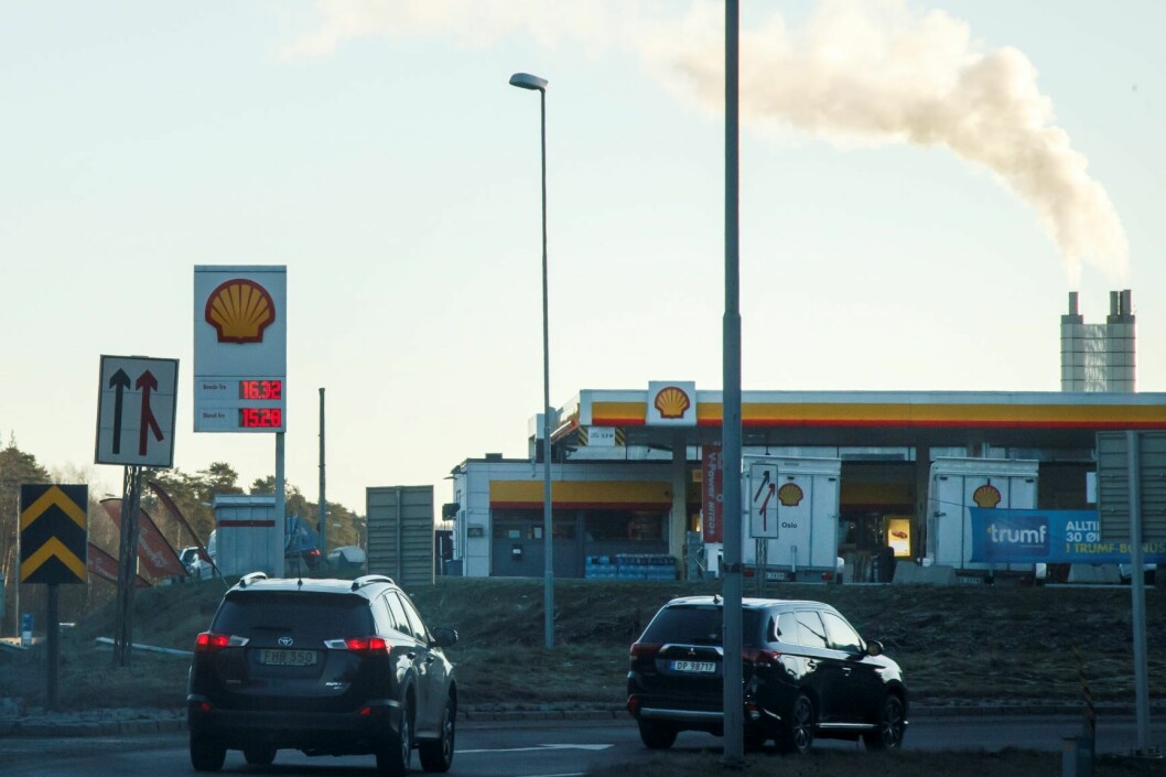 I Oslo står trafikken for over 50 prosent av de samla utslippene. Foto: Heiko Junge / NTB scanpix