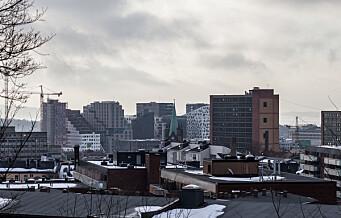 En ny fotobok dokumenterer utbyggingen i Bjørvika. Se fotoserien