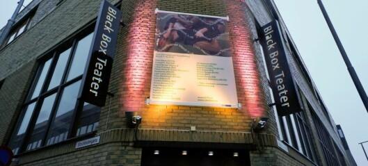 Se hvem som vil bli teatersjef ved Black Box teater på Grünerløkka. Her er lista