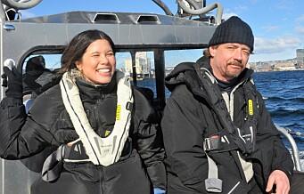 Rusavhengige fra Frelsesarmeens Jobben tok med miljøbyråden på plastrydding i Oslofjorden