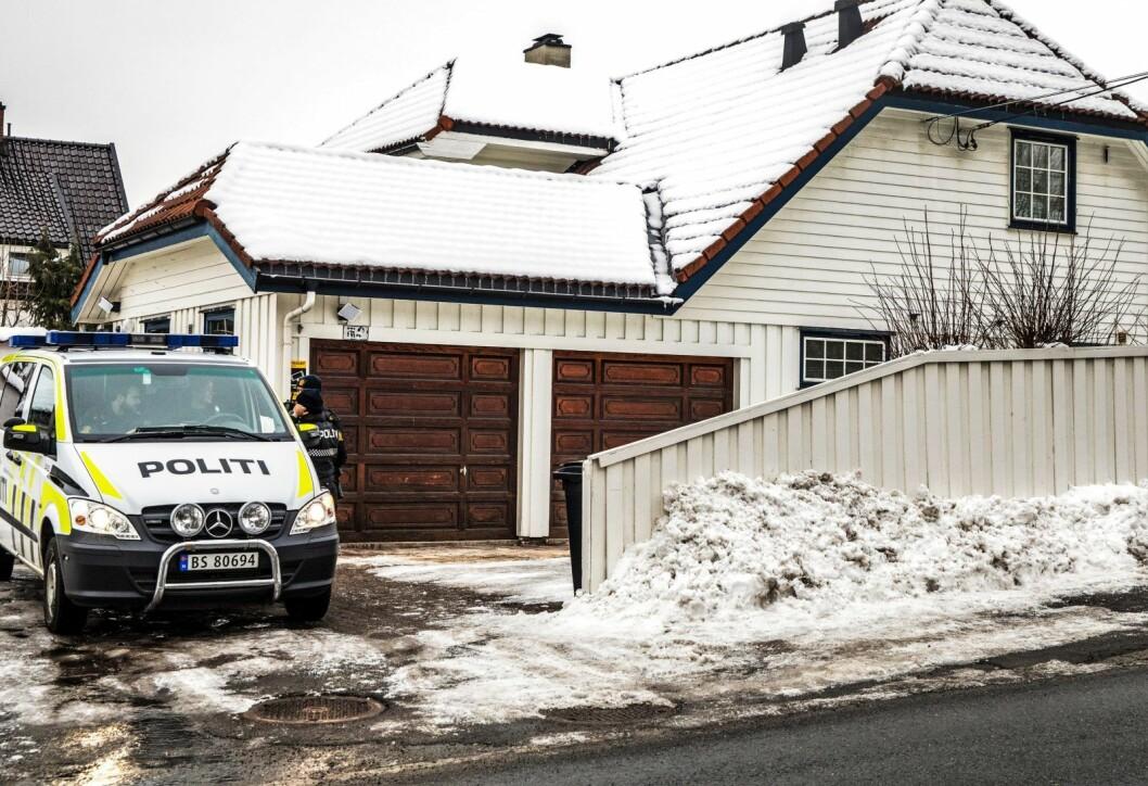 Filmingen av justisminister Tor Mikkel Wara (Frp) og samboer Laila Anita Bertheussen blir også henlagt, opplyser politiet tirsdag kveld. Foto: Ole Berg-Rusten / NTB Scanpix