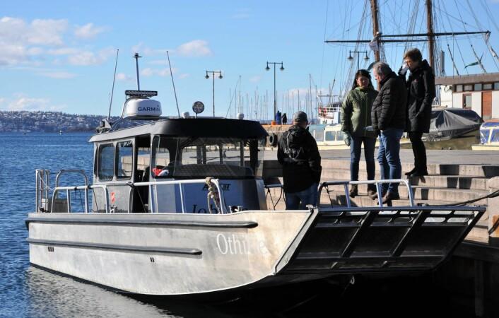 Frelsesarmeens båt Othilie er oppkalt etter Anna Othilie Tonning. Hun var en av pionerene innen frivillig sosialarbeid i Norge, og mangeårig sjef for slumsøstrene i Frelsesarmeen. Foto: Arnsten Linstad